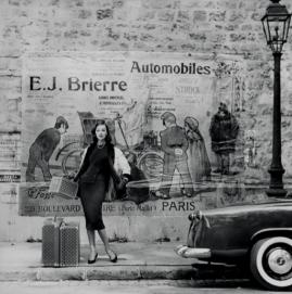 Henry Clarke Vogue Paris 1955