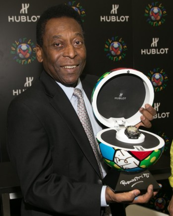 Pele+Hublot+Loves+Football+Kickoff+Miami+ZPlSKHqNb7kl