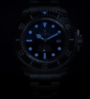 Luminiscencia excepcional en coloración azul.