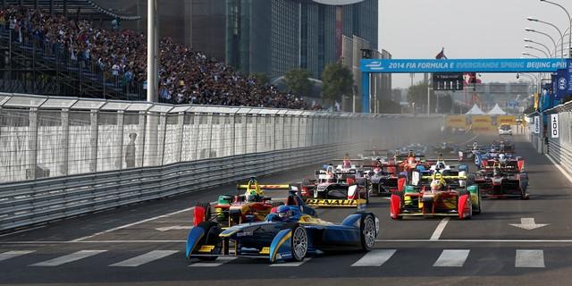 FIA Formula E - Race Beijing E-Prix, China Saturday 13 September 2014. Photo: Sam Bloxham/LAT/ Formula E ref: Digital Image _SBL5713