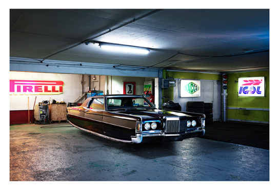 """LINCOLN CONTINENTAL by Renaud Marion collection """"Air Drive""""."""