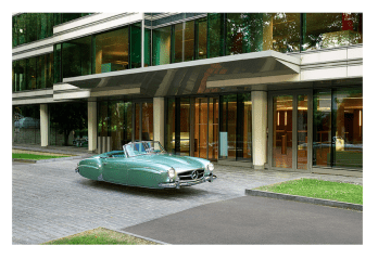 "MERCEDES 190SL by Renaud Marion collection ""Air Drive""."