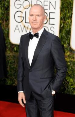 Michael Keaton vistió el Bvlgari Bvlgari Solotempo