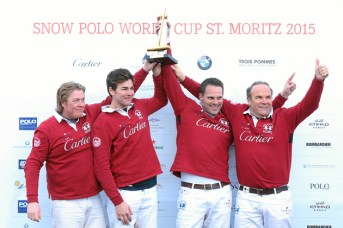 Snow Polo World Cup St. Moritz: Prize-giving ceremony