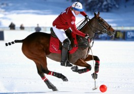 Snow Polo World Cup St. Moritz: Chris Hyde