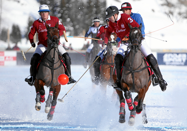 Snow Polo World Cup St. Moritz: Cartier vs. BMW