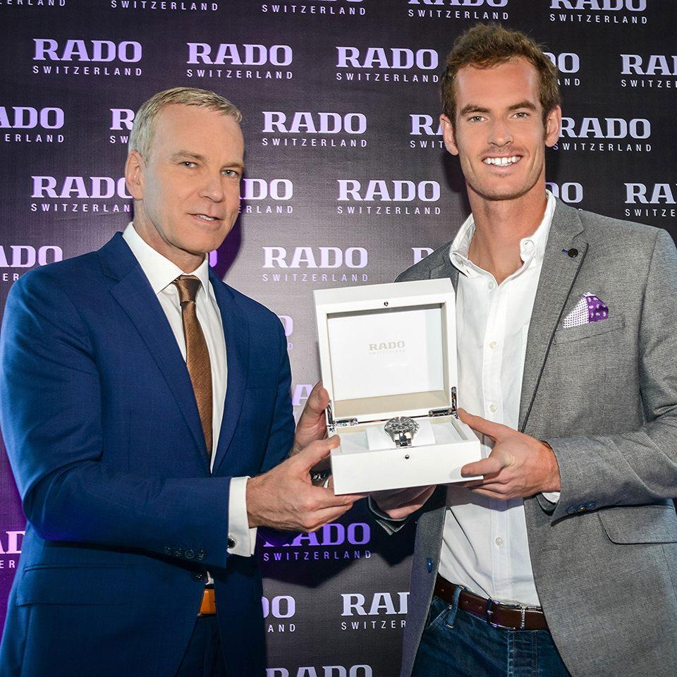 Matthias Breschan y Andy Murray