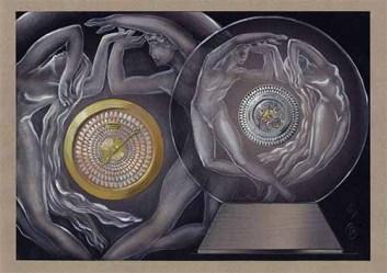 Soleil de Gaia Clock