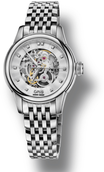 Oris Artelier Skeleton Diamond4