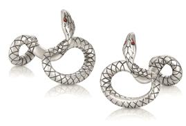 Montblanc_silver cufflinks_ident114752