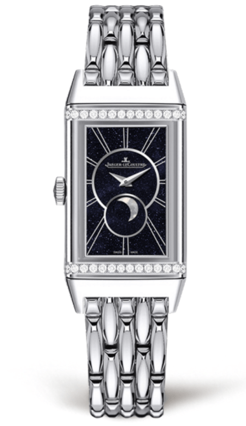 Reverso One Duetto Moon Acero