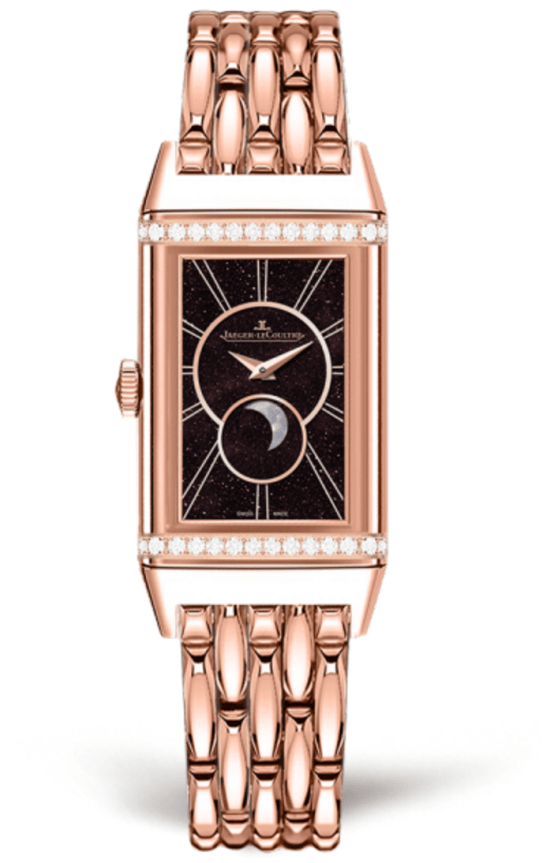 Reverso One Duetto Moon Oro Rosa