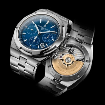 Overseas chrono blue 5500V/110A-B148recto-verso