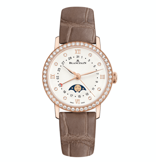 Villeret Date Moon Phases (red gold)-Blancpain-3