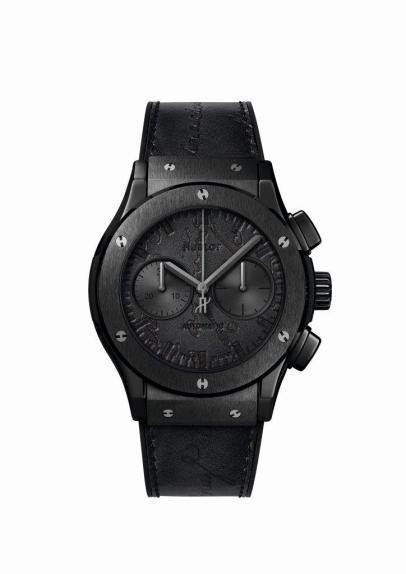 Classic Fusion Chronograph Berluti All Black