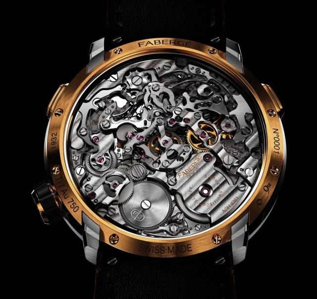 Fabergé Visionnaire Chronograph Gold Backcase