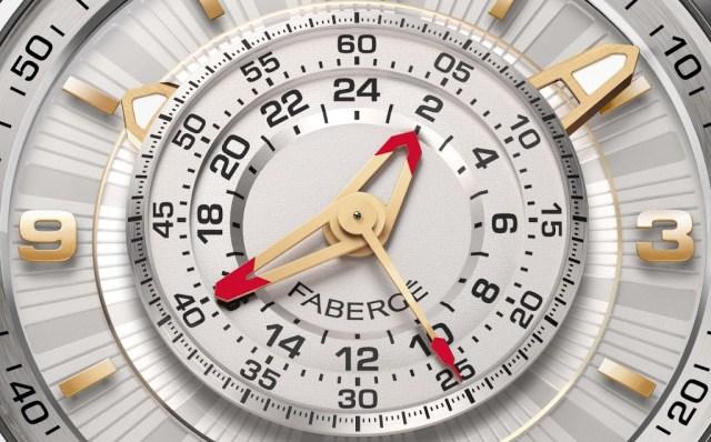 Fabergé Visionnaire Chronograph gold dial
