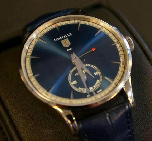 Lonville Virage '59 Blue GMT dial