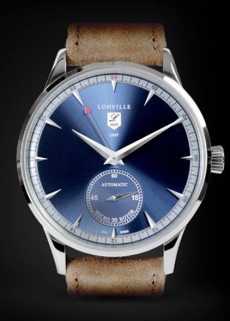 Lonville Virage '59 Blue GMT