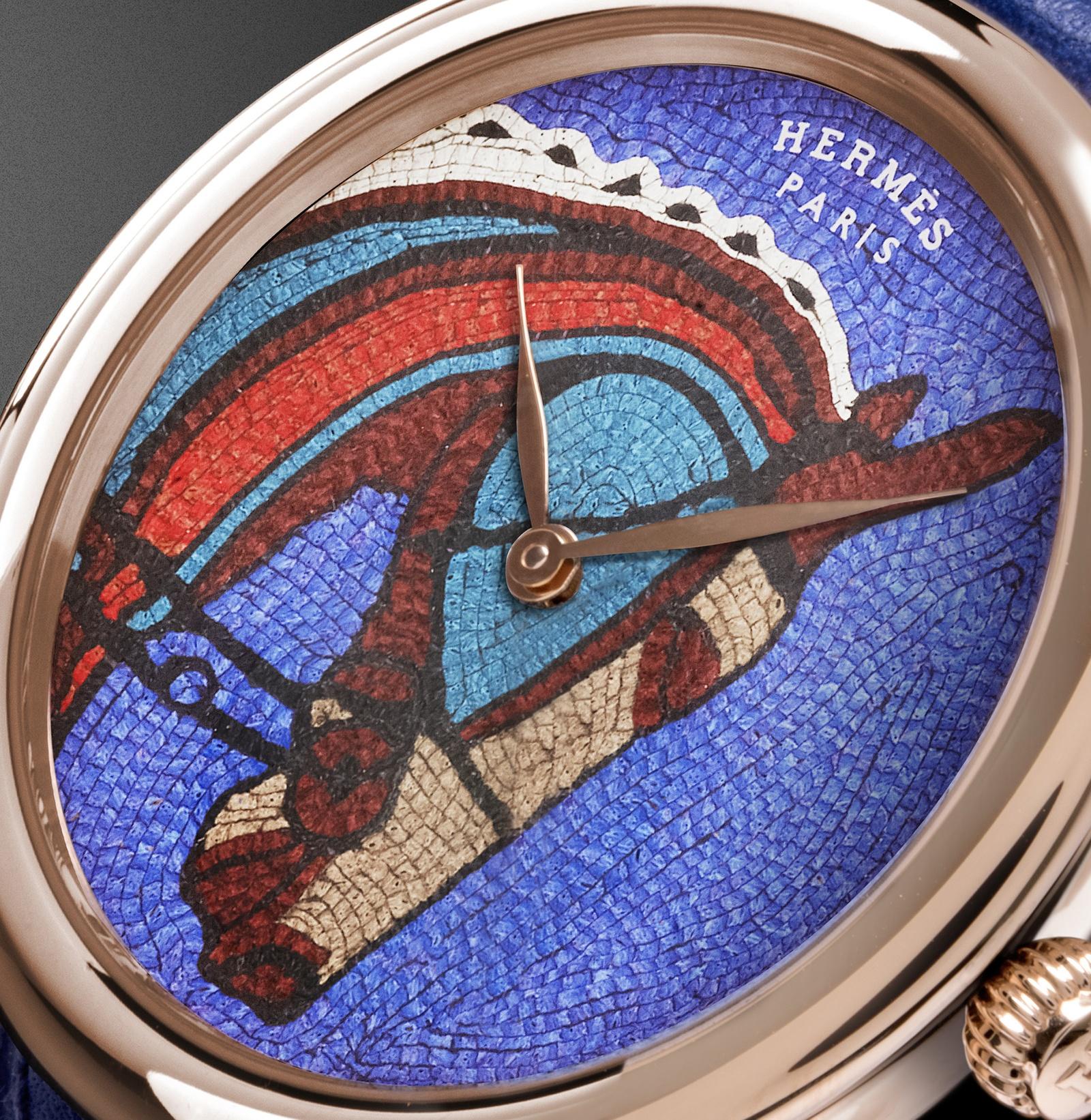 Hermes Arceau Robe du Soir dial
