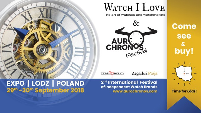 AuroChrono Festival and Watch I Love