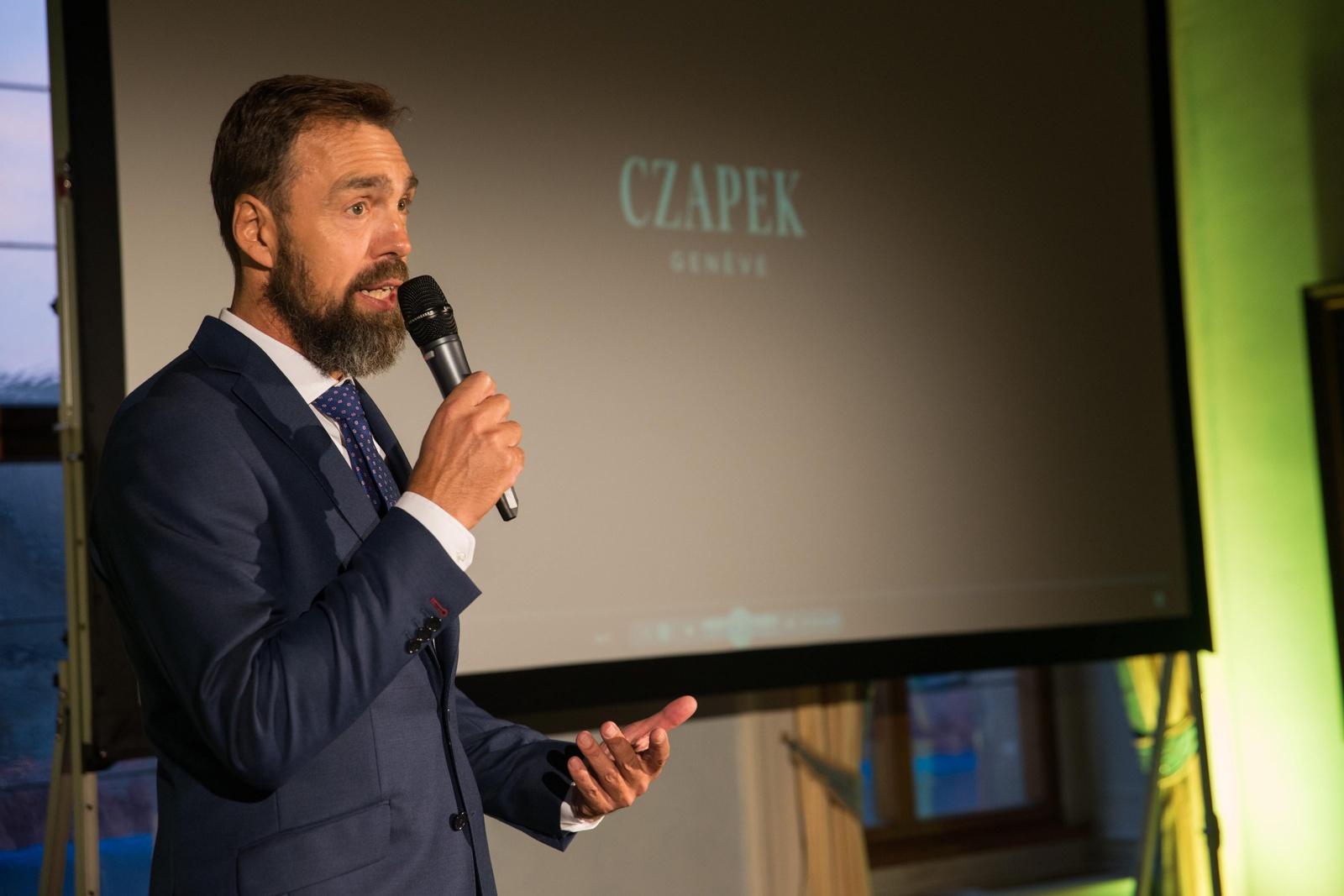 "Czapek & Cie Quai des Bergues ""Tribute to Czechia - 100th Anniversary"""