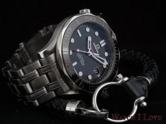 Omega Seamaster Professional Diver 300 and Omega bracelet