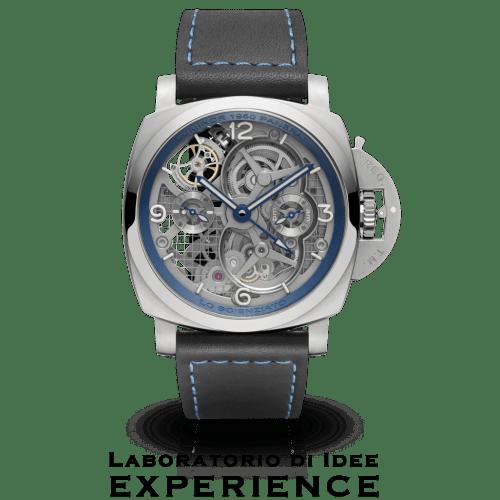 LO SCIENZIATO - LUMINOR 1950 TOURBILLON GMT TITANIO - 47MM