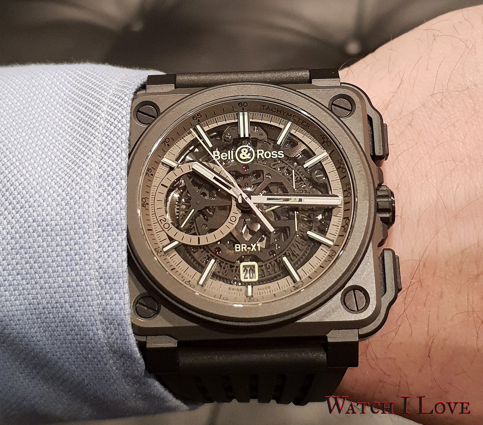Bell&Ross BR-X1 Military Wrist