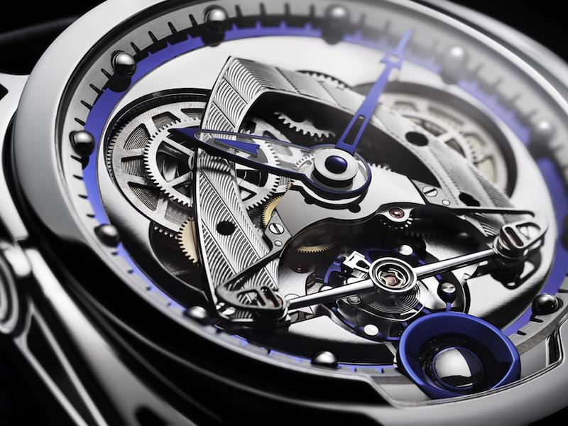 DB28 Steel Wheels dial detail