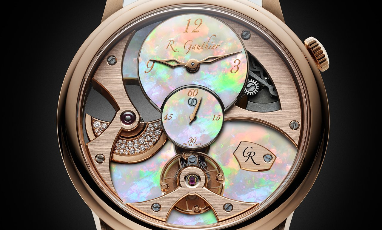 Romain Gauthier Micro-Rotor Lady Opal cover