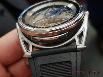 De Bethune DB28GS Grand Bleu pusher