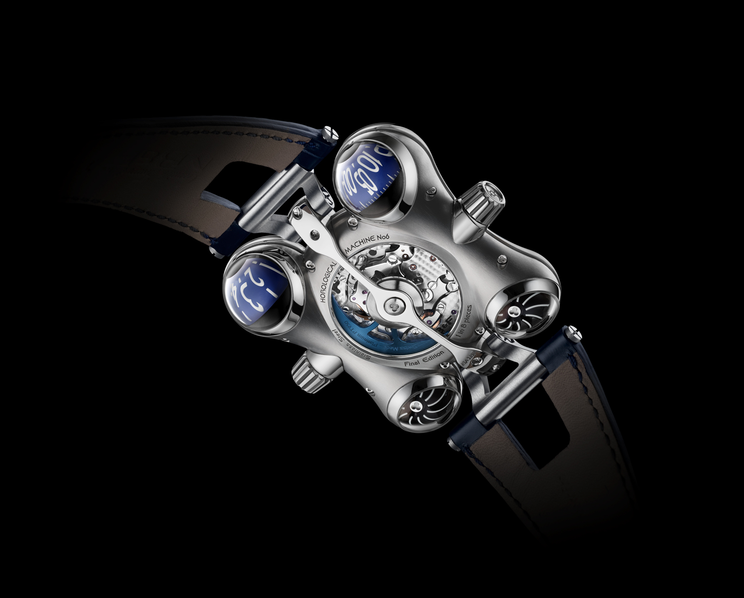 MB&F Horological Machine No.6 Final Edition back