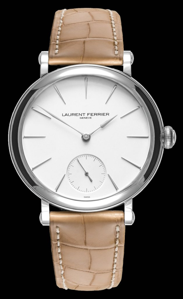 Laurent Ferrier Micro-Rotor Galet Opaline Black & White