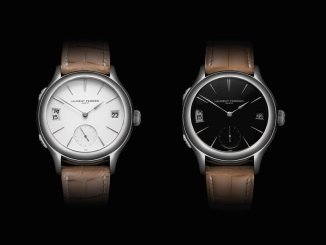 Laurent Ferrier Galet Traveller Opaline Black or White