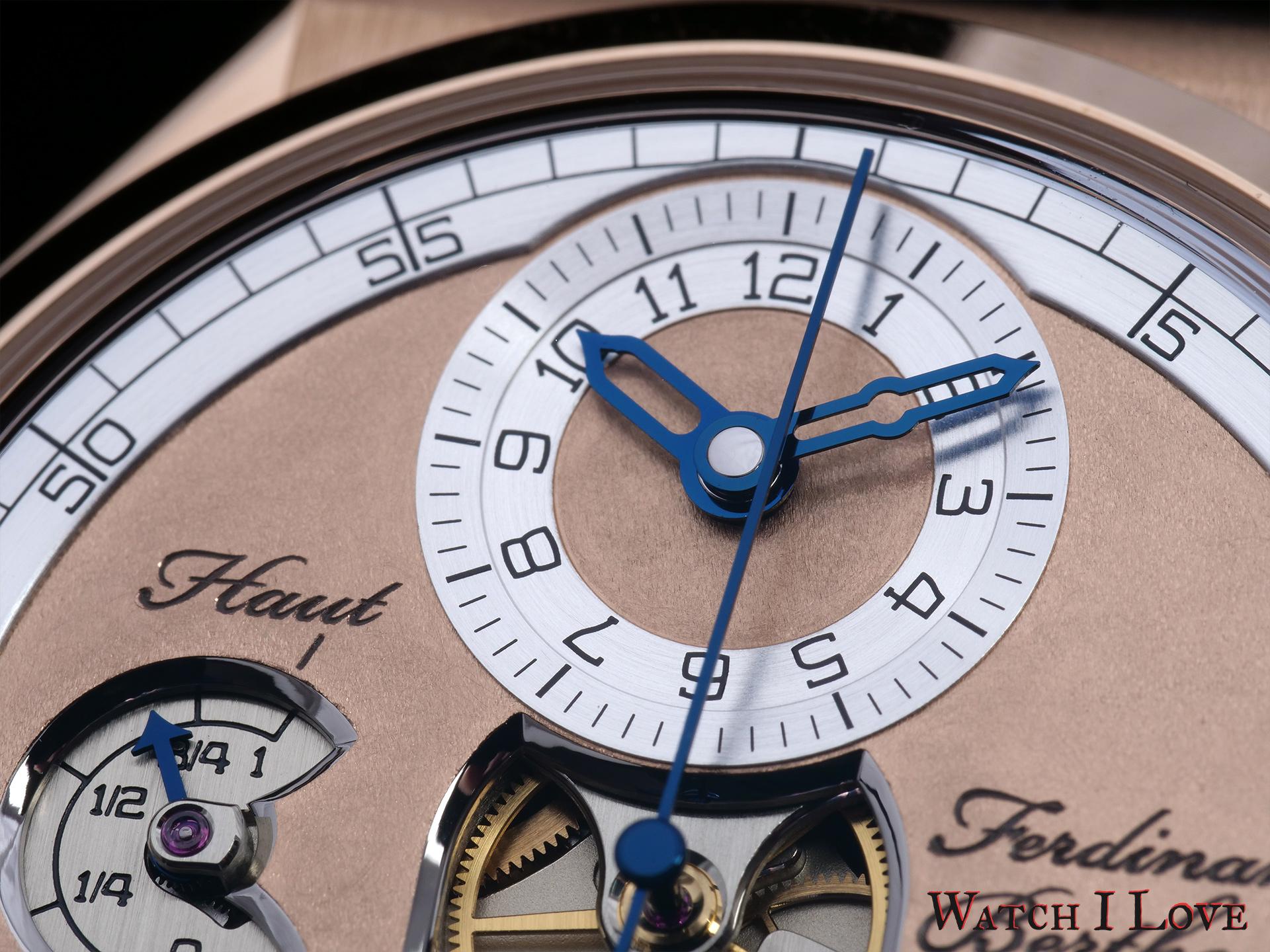 Ferdinand Berthoud Ref. FB 1.2-1 - Dial detail time display