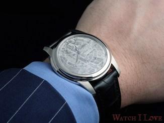Romain Gauthier Prestige HMS Stainless Steel on the wrist