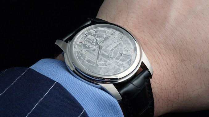 Romain Gauthier Prestige HMS Stainless Steel on the wrist