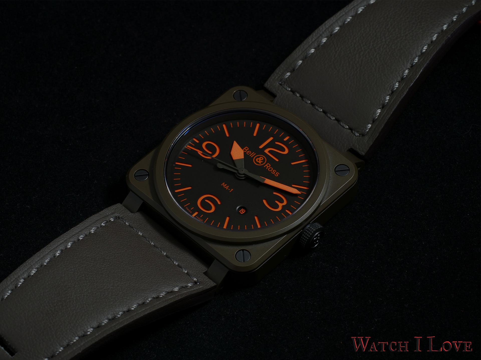 Bell & Ross BR 03-92 MA-1 watch