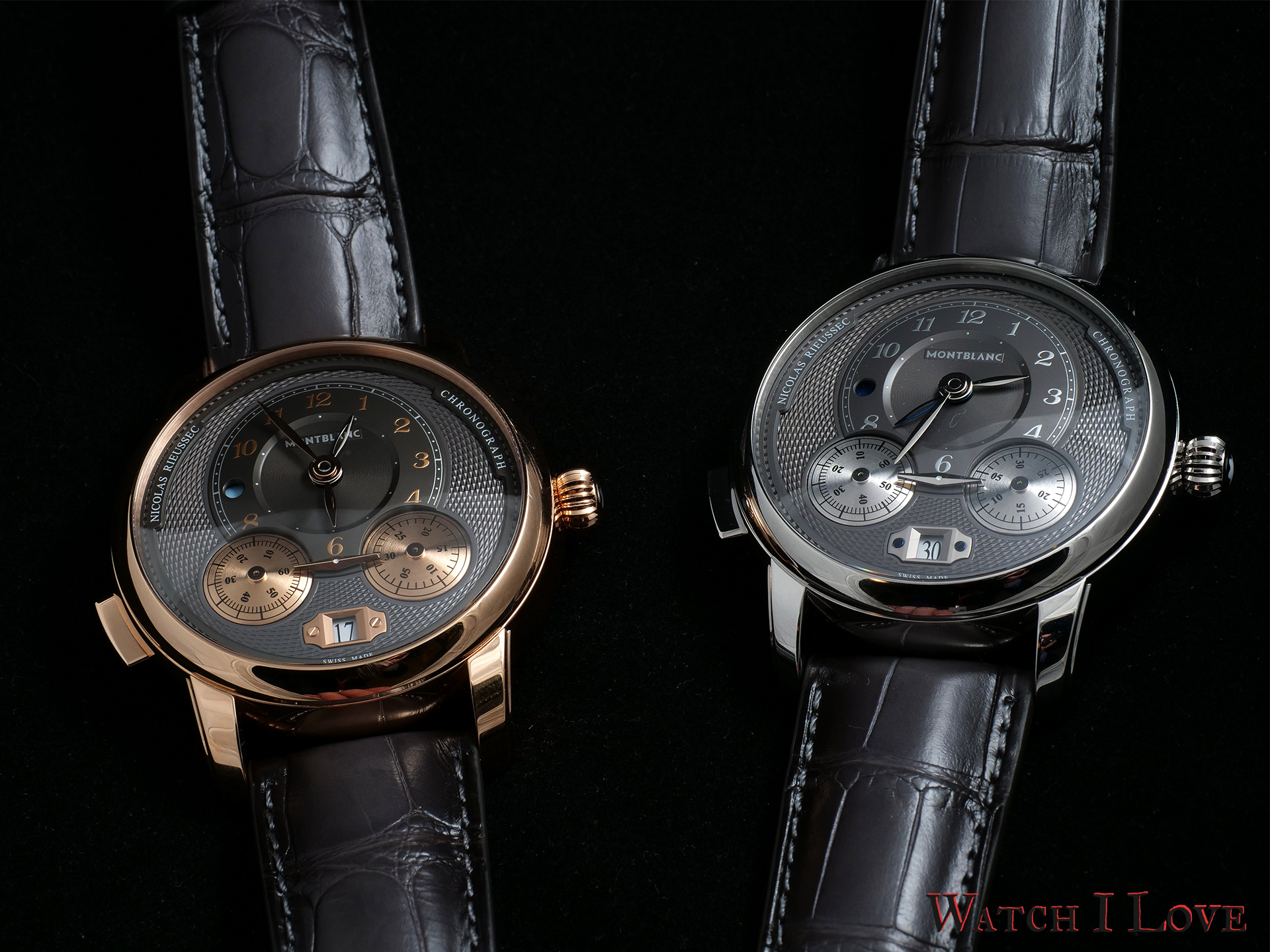 Montblanc Star Legacy Nicolas Rieussec Chronograph Ref.119964 and Ref.119954