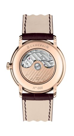 Blancpain Villeret GMT date Reference: 6662 3642 55