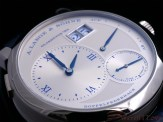 """The dial of the A. Lange & Söhne LANGE 1 """"25th Anniversary"""""""