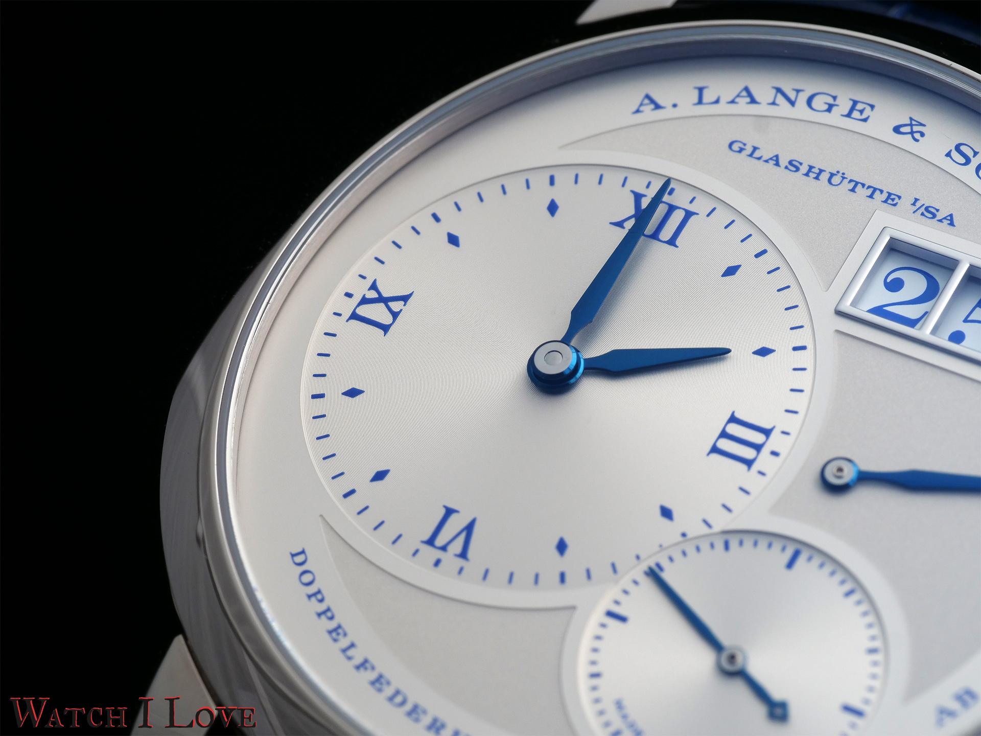 A. Lange Soehne LANGE 1 25th Anniversary time sub-dial