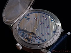 Another angle of the back of the LANGE 1 25th Anniversary
