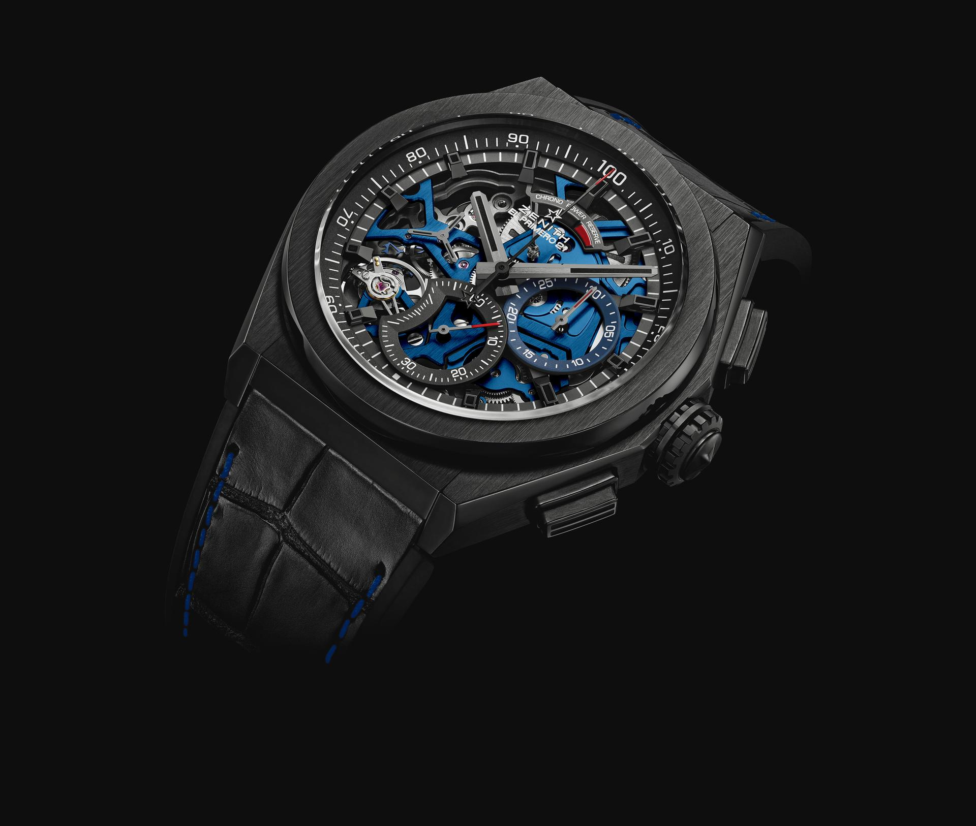 Zenith Defy 21 Boutique Edition Ceramic Blue