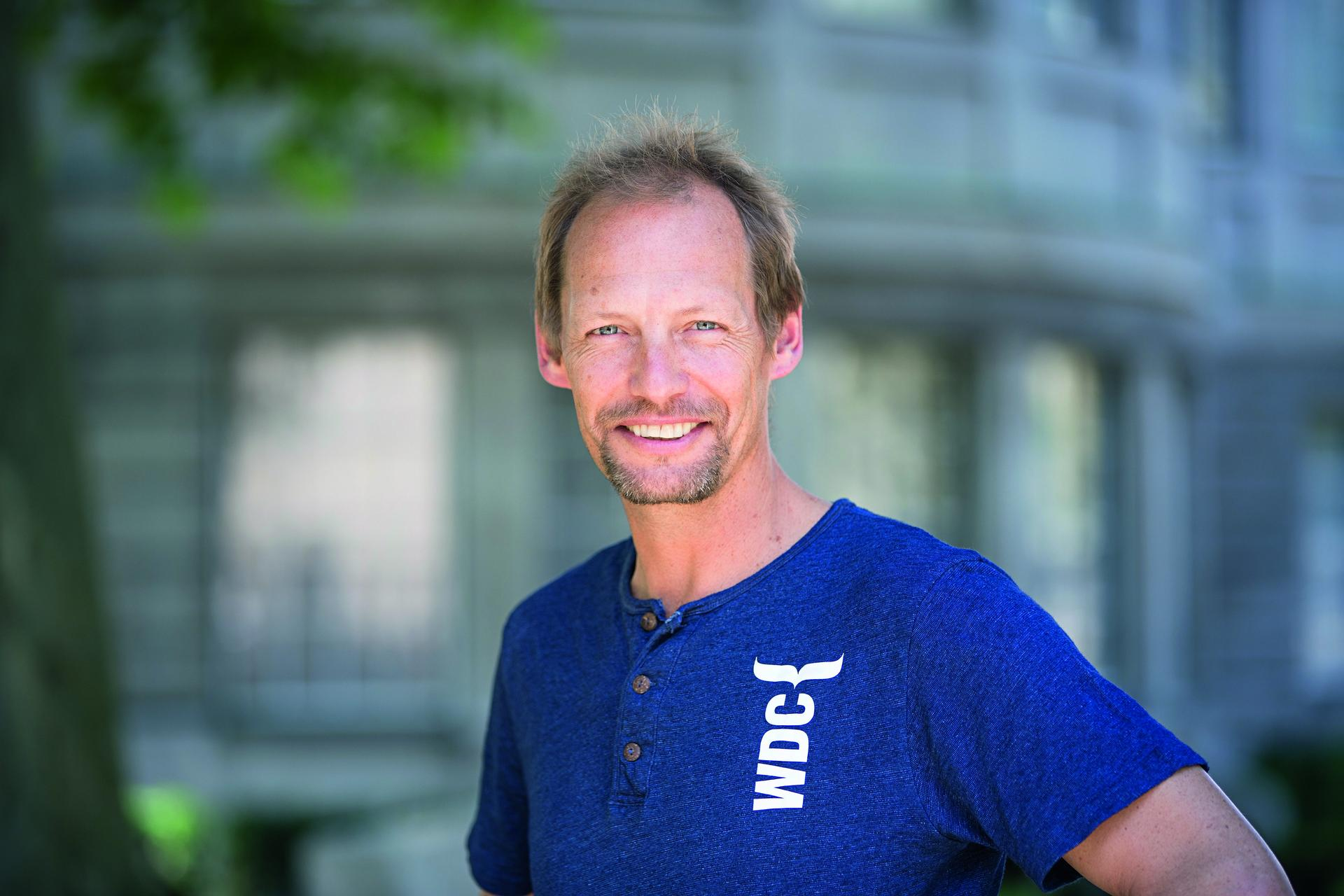 Fabian Ritter, WDC marine biologist
