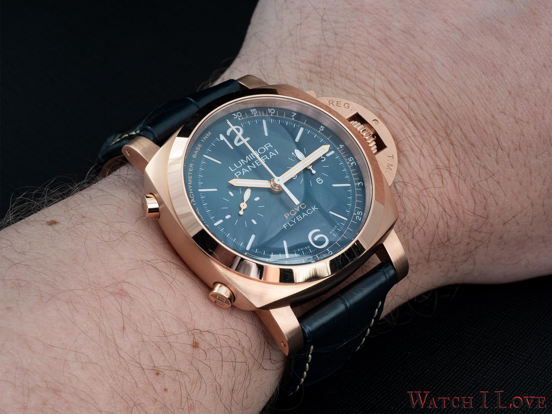 Panerai PAM1020 on the wrist