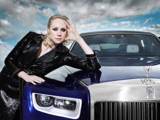 Rolls-Royce Phantom shot by British photographer and filmmaker Rankin