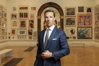 Benedict Cumberbatch at Jaeger-LeCoultre Gala dinner in London @getty