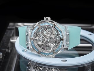 Hublot Classic Fusion Tourbillon Sapphire Orlinski Only Watch